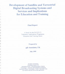 Dev of Sat and Terr Digital Broadcasting systems